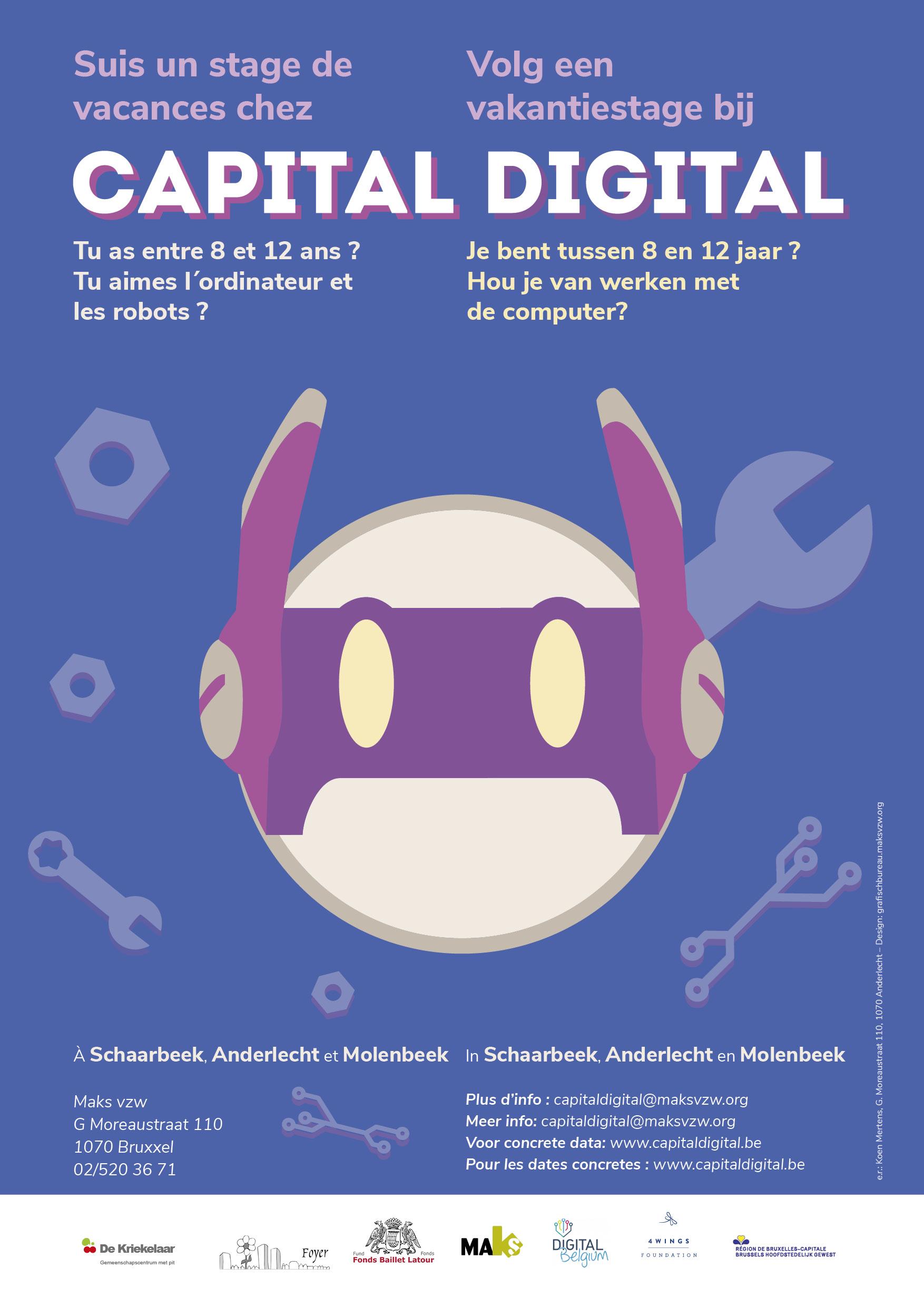 Les inscriptions pour Capital Digital en 2020 sont ouvertes !